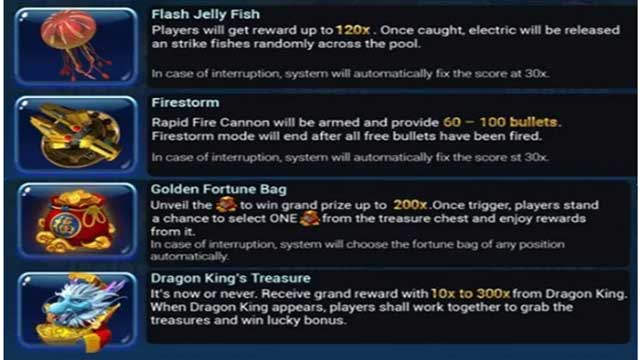 item special fishermen gold